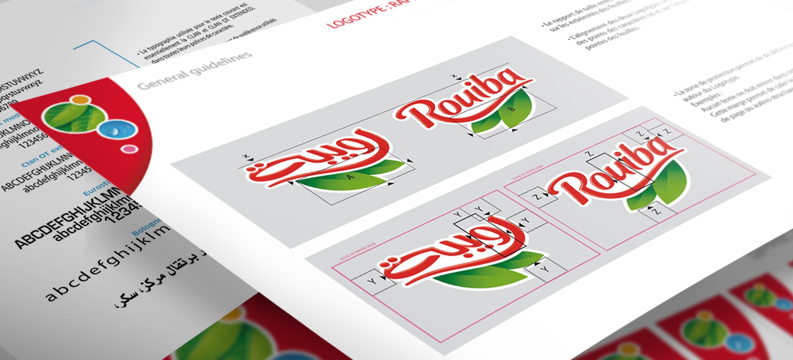 ROUIBA Branding Vikiu design