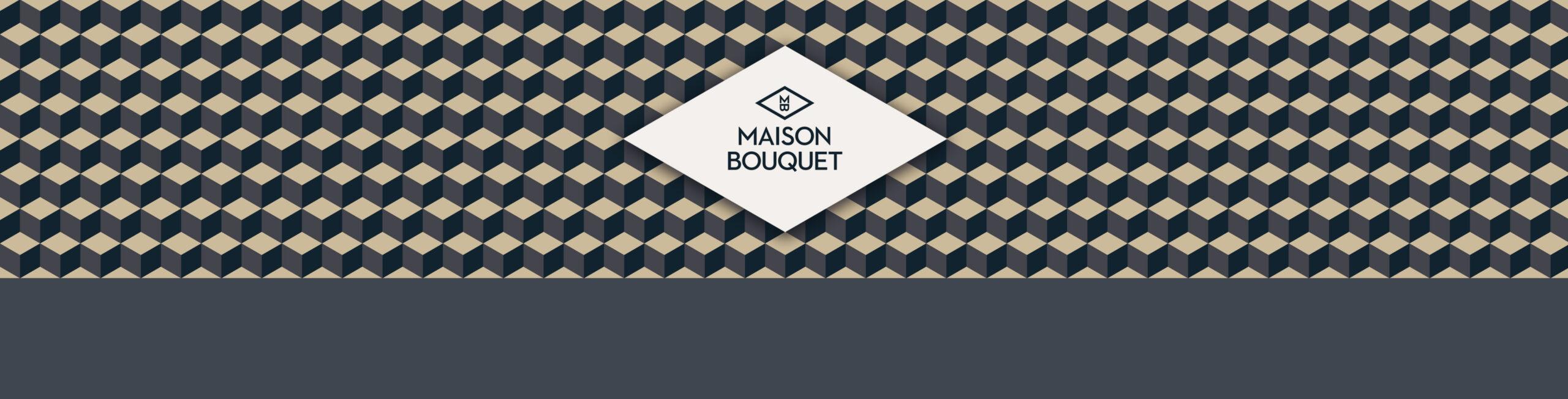 maison bouquet vikiu design logo frise